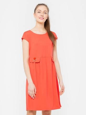 Фото широкое платье с завышенной талией и вырезом лодочка - Платье З106-277 (1)