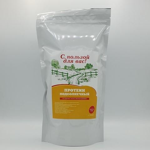 Подсолнечный протеин С ПОЛЬЗОЙ ДЛЯ ВАС, 500 гр