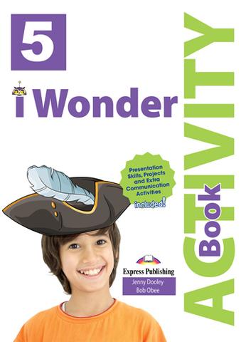 i Wonder 5 Activity book - рабочая тетрадь с электронным приложением