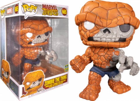 Funko POP! SDCC 2020: MARVEL Zombies Zombie The Thing 10' 665 (Exc)