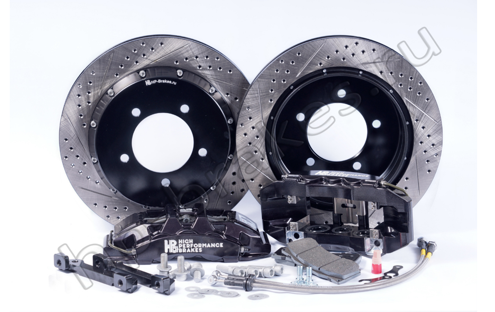 Тормозная система HP Brakes (Задняя ось, D19, 6 поршней, диск 380х32мм)