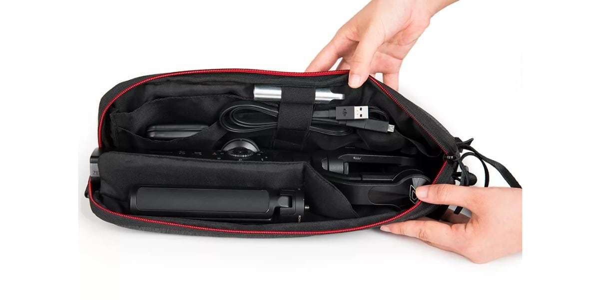 Мягкая сумка для стабилизатора Pgytech Mobile Gimbal Bag открыта
