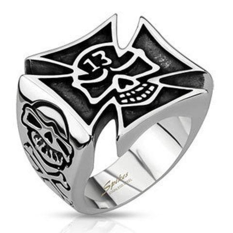 Перстень SPIKES R-Q8047