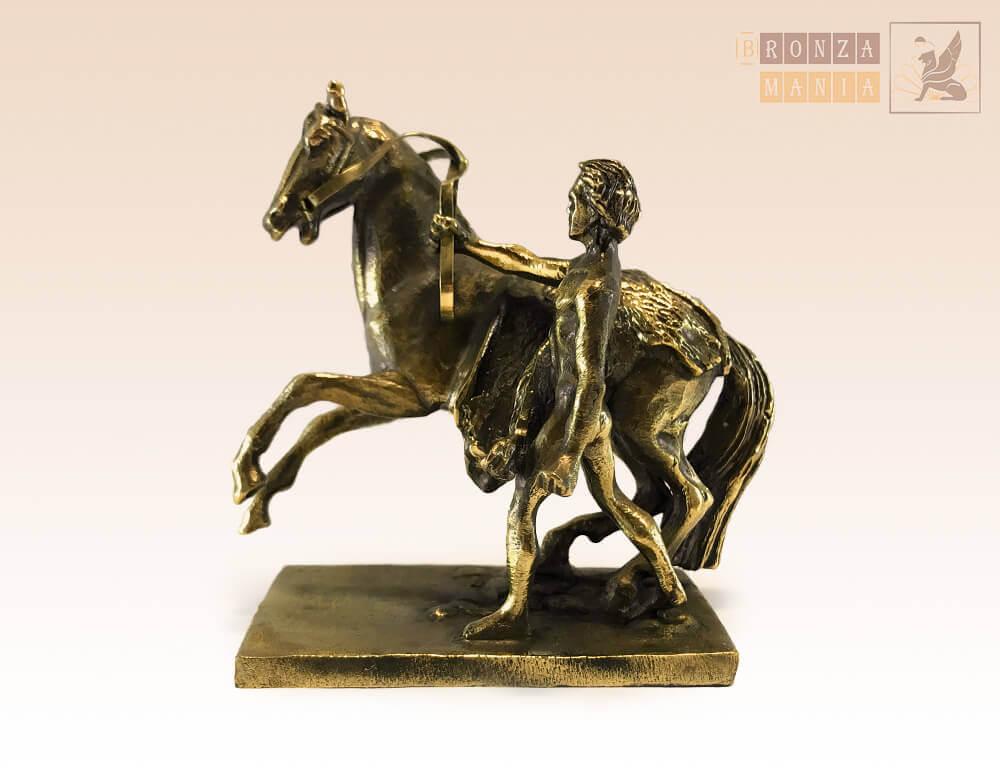 статуэтка Аничков мост, кони Клодта (вариант 4)
