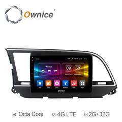 Штатная магнитола на Android 6.0 для Hyundai Avante 16+ Ownice C500+ S9708P