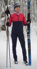 Утеплённый лыжный костюм Nordski Premium Pink/Blueberry женский