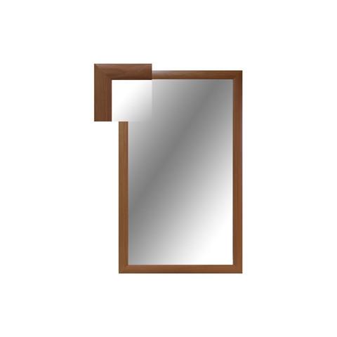 Зеркало настенное Attache (1000x600 мм, вишня)