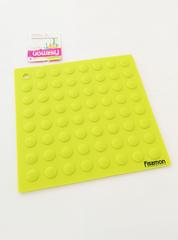 7120 FISSMAN Коврик силиконовый 17,6x17,6 см