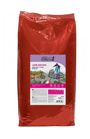 DailyDog Adult All Breed сухой корм для взрослых собак всех пород с ягненком и рисом 15 кг