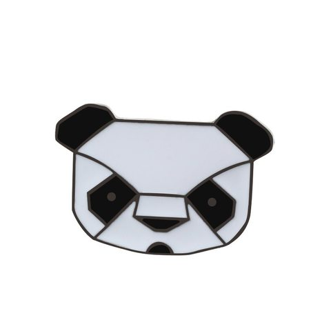 Значок, пін - Панда графічна