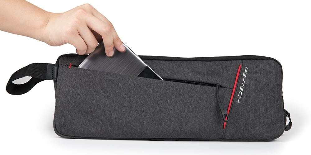 Мягкая сумка для стабилизатора Pgytech Mobile Gimbal Bag смартфон в кармане