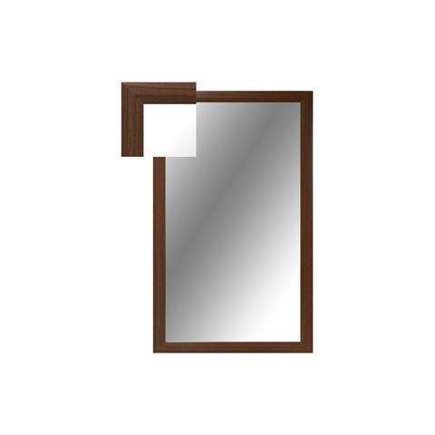 Зеркало настенное Attache (1000x600 мм, орех)