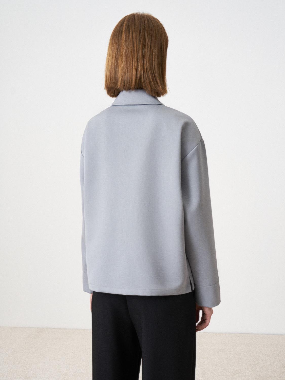 Рубашка Edna с большими карманами, Светло-серый
