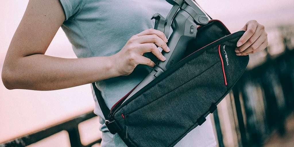 Мягкая сумка для стабилизатора Pgytech Mobile Gimbal Bag lifestyle