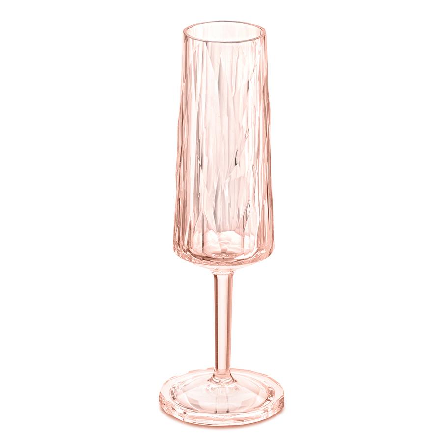 Бокал для шампанского Superglas CHEERS NO. 5, 100 мл, розовый