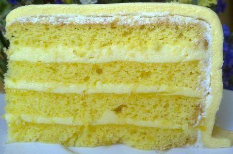 Лимонный торт без сахара