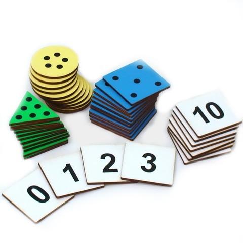 Точечки Никитина - игра для обучения счету