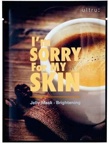 I'm Sorry For My Skin Jelly Mask-Brightening маска для лица
