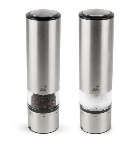 ELIS SENSE - Набор 2 предмета электрических мельниц для соли и перца 20 см нерж.сталь (set 2 pcs)