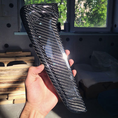 Карбоновые жабры в передние крылья для BMW X6M F86