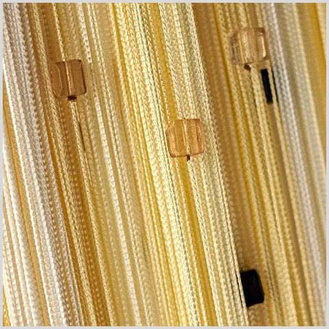 Радуга с кубиками Белая, желтая (шампань). Ш-300см., В-280см. Арт.121