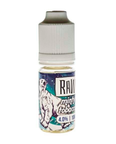 RAW Жидкость Refill Salt RAW Minty Tobacco