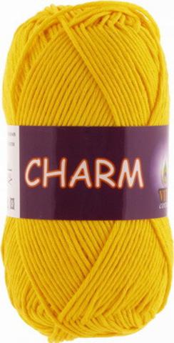 Пряжа Charm (Vita cotton) 4180 Желтый