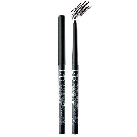 Белита Lab colour Карандаш для глаз Perfect Eyeliner Long Lasting 12h контурный механический тон 01 (черный матовый)