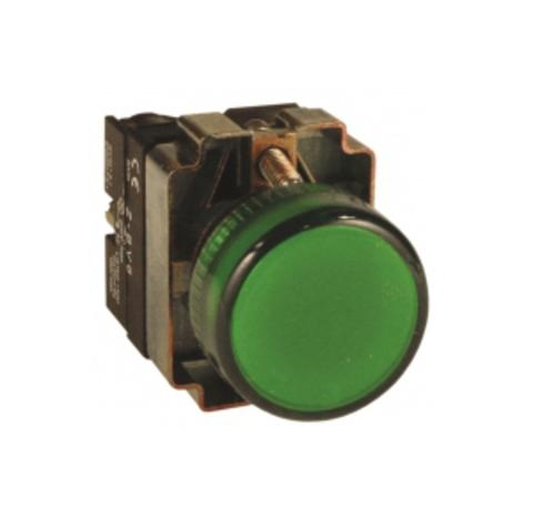 Лампа BV63 матрица d22 мм зеленыйTDM