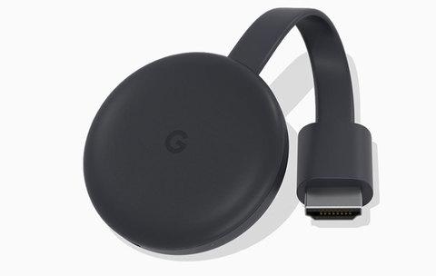Медиаплеер Google Chromecast 2018 черный