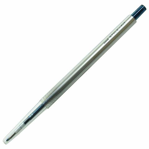 Гелевая ручка 0,5 мм Uni Style Fit - Blue-Black - сине-чёрные чернила