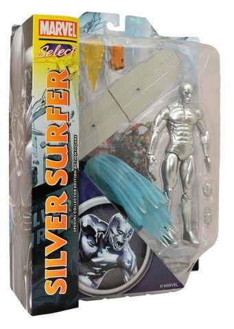Марвел Селект фигурка Серебряный Серфер — Marvel Select Silver Surfer