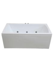 Акриловая ванна BAS Индика 170x80х56 с гидромассажем