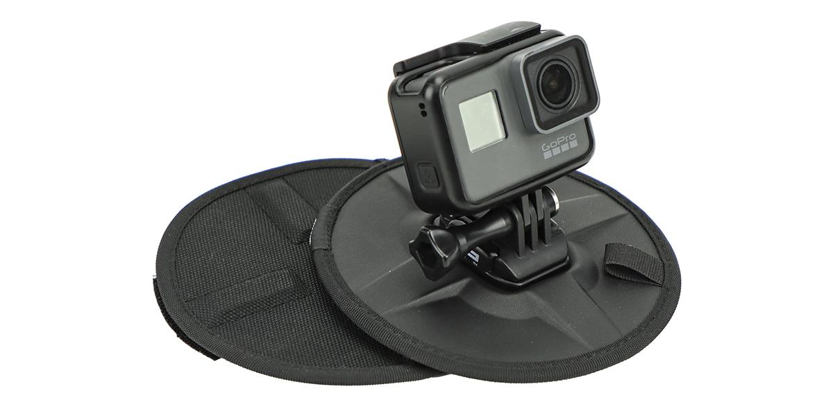 Гибкое магнитное крепление SP Flex Mount с камерой спереди