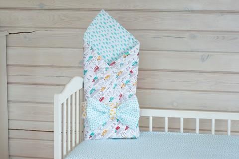 Конверт-одеяло на выписку 90*120см