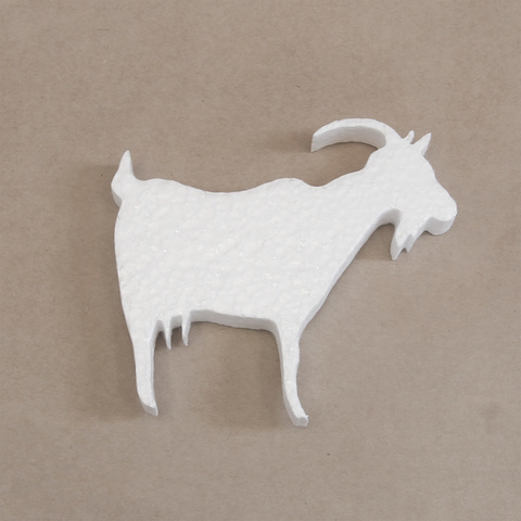 Коза из пенопласта