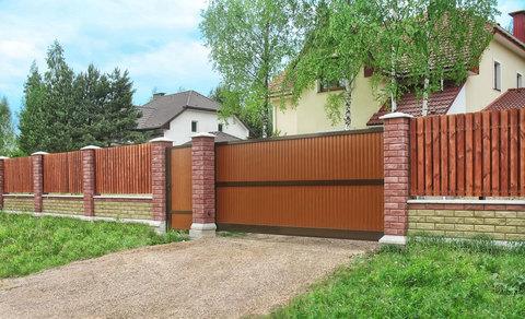 Ворота  уличные Alutech 4000х2170 мм.
