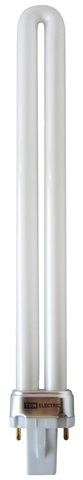 Лампа энергосберегающая КЛЛ-PS-9 Вт-4000 K-G23 TDM