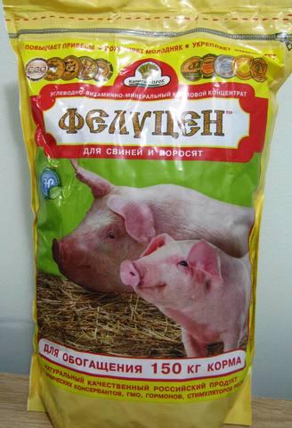 УВМК для свиней и поросят (углеводно витаминно-минеральный кормовой концентрат) 3кг