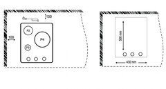 Варочная панель Korting HG 465 CTX схема