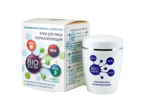 Modum Bio System Крем для лица нормализующий 45г