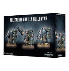 Militarum Auxilla Bullgryns. Коробка