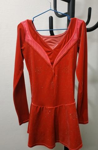 Платье Б/У Mondor (красный) 10-12 лет