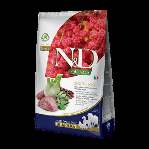 Farmina Quinoa Digestion Lamb Сухой корм для собак для поддержки пищеварения Ягненок с Киноа беззерновой