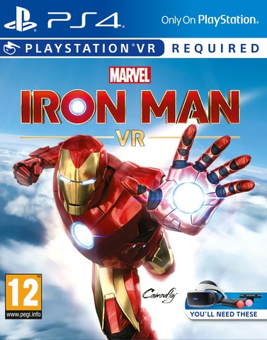 PS4 Marvel's Iron Man VR (поддержка VR, русская версия)