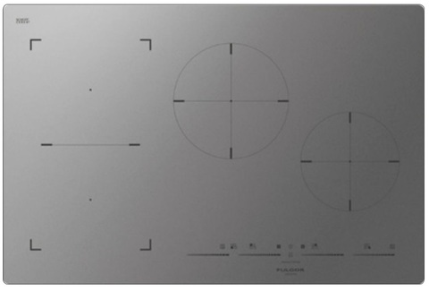 Индукционная варочная панель Fulgor-Milano FSH 804 ID TS MAT