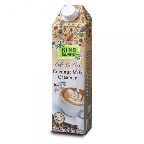 Сливки кокосовые для кофе KING ISLAND, 1000мл