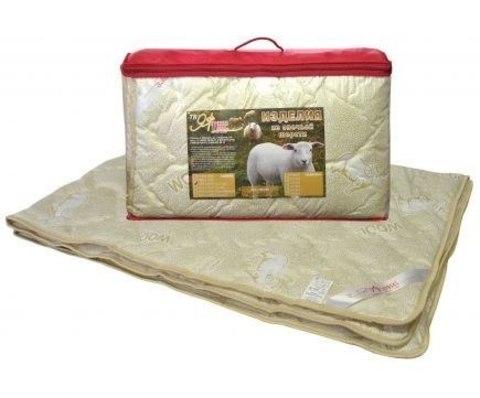 Одеяло овечка 2-сп. с чехлом из тика