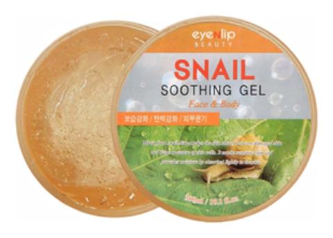 Универсальный гель для лица и тела с муцином улитки Snail Soothing Gel от бренда Eyenlip
