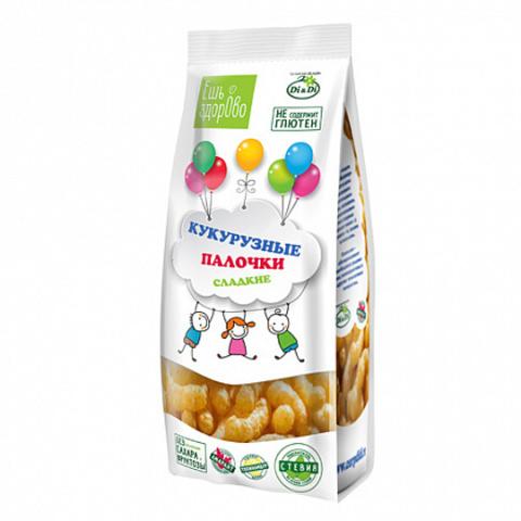 «Ешь здорово»Кукурузные палочки сладкие, 80г